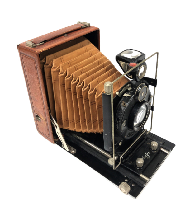 Agfa Chambre Folding 9 X 12 Version Luxe