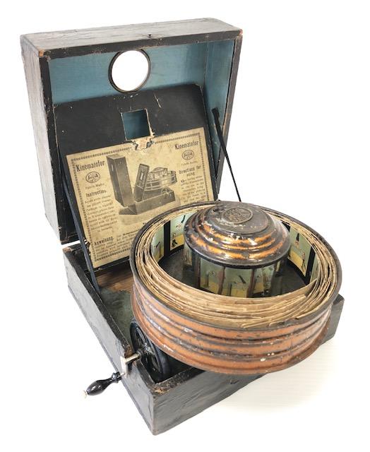 Kinématofor E.Plank Allemagne 1880