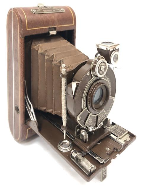 Eastman Kodak Vest Pocket Série III Marron 1926