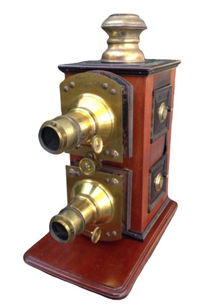 Lanterne  Projection Double Clément & Gilmer 1890