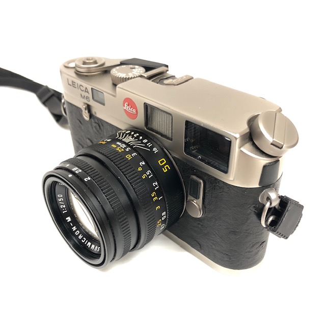 Leica M6 Titane