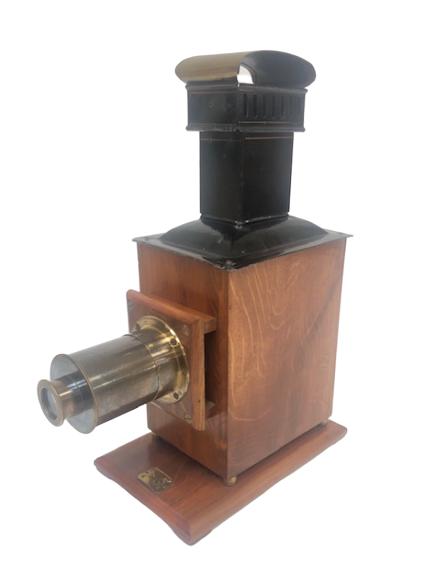 Lanterne Magique En Bois Fabricant Schoenner