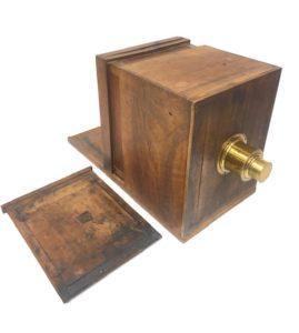 Chambre à tiroir Collodion 1855