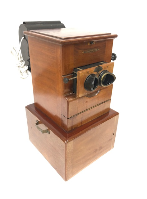 Stéréoscope De Table Métascope Format 6 X 13