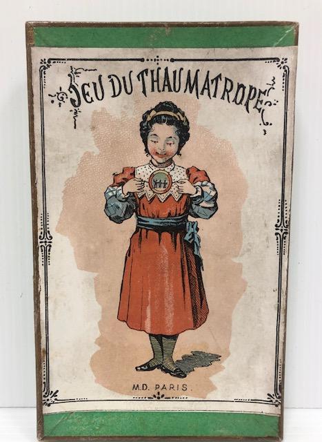 Thaumatropes M.D. Mauclair & Dacier Paris