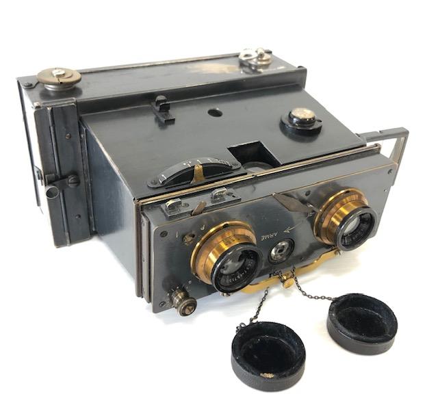 Vérascope Stéréo  Jules Richard Format 6 X 13 Dos Film