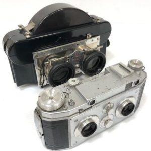 Vérascope F40 et sa visionneuse Jules Richard
