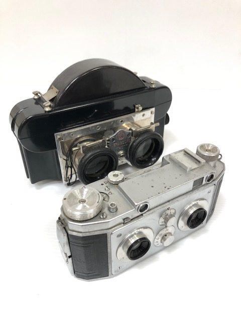 Vérascope F40 Jules Richard Et Sa Visionneuse Stéréo En Bakélite
