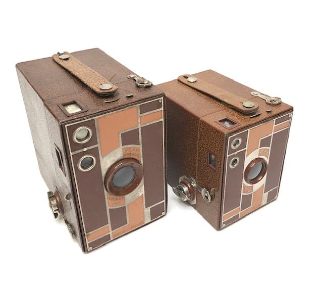 Beau Brownie Marron 2  Et 2 A Fabriqués De 1930 à 1933 Etats-Unis