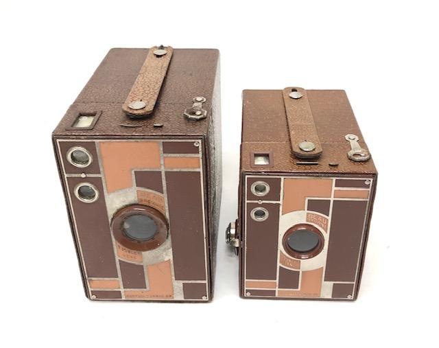 Beau Brownie Marron 2 A Et 2 Fabriqués De 1930