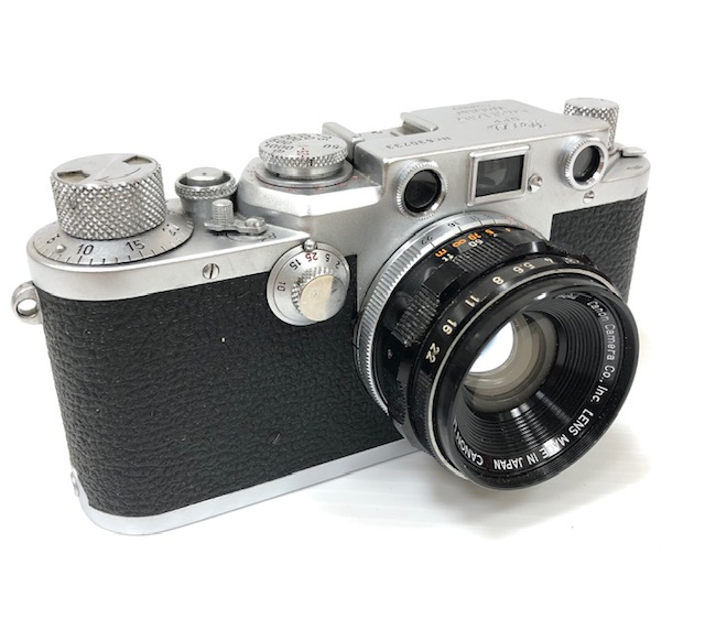 Leica III F 1952 échelle Rouge,objectif Canon 2/35 Mm