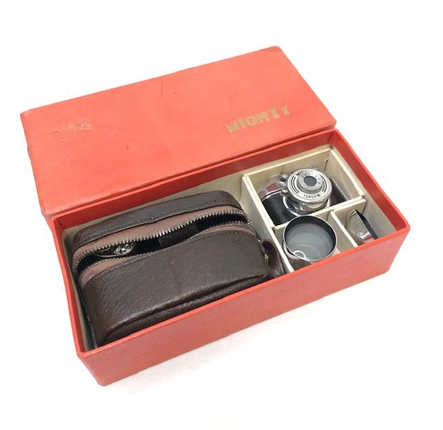 Migthy Toko Kogaku Miniature Caméra Images 14 X 14 Set Avec Téléphoto