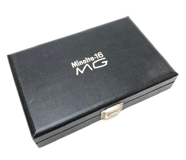 Coffret Minolta 16 MG Japon 1970