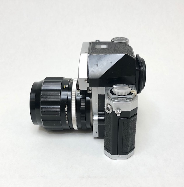 Nikon F Objectif 2,5/105 Nikkor-P 1965/1970