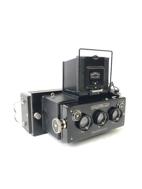 Voigtlander Stéréoflektoscop Format 6 X 13 Vers 1913