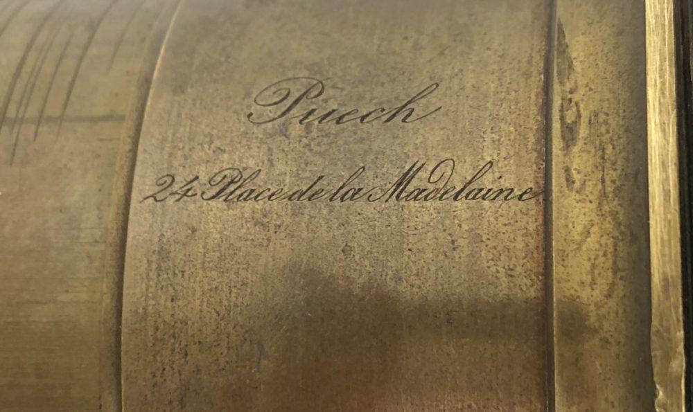 Puech & Cie 24 place de la Madeleine Paris 1855