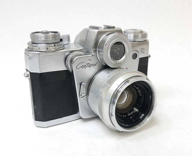 Zeiss Contarex Bullseye 1965 Objectif Planar 2/50mm.
