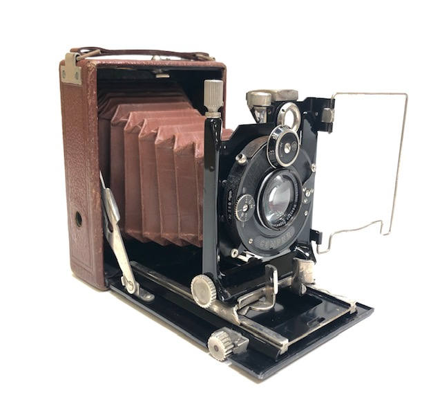 Métharis Merkel Tropical Folding Caméra 1930 Allemagne