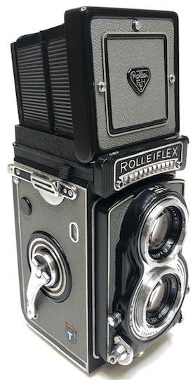 Rolleiflex T Gris Film 120 1958