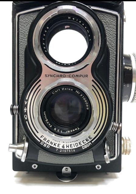 Rolleiflex T gris film 120
