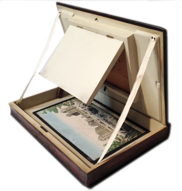 Zoograscope en forme de livre, viewer book.
