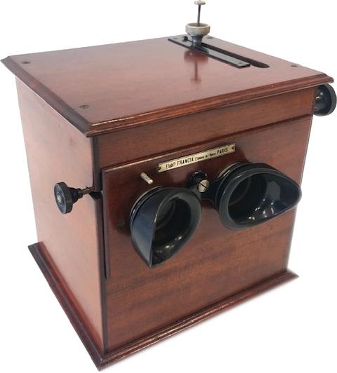 Mackenstein Stéréoscope Classeur Portatif Suffize & Molitor