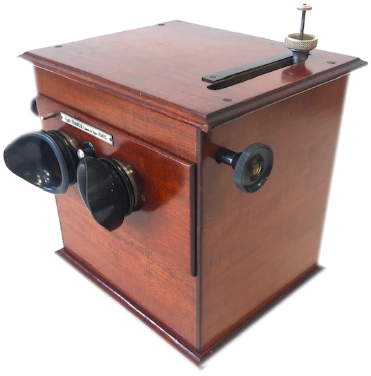 Mackenstein Suffize & Molitor Stéréoscope-classeur