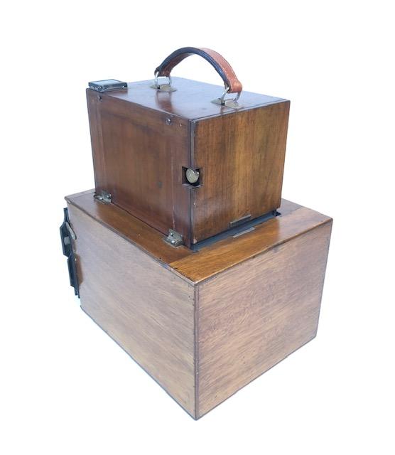 Détective copie du Vega Téléphot inventé par Vautier,Dufour & Schaer 1901