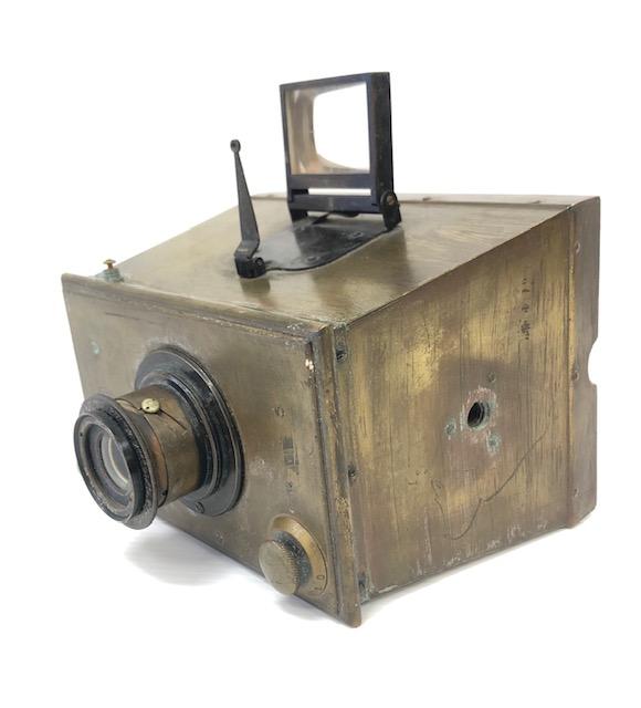 Gaumont Spido jumelle modèle 1 tout en laiton 1896