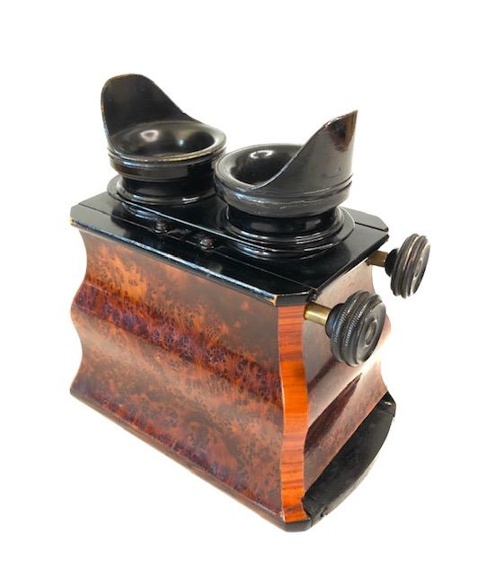 Mackenstein stéréoscope à doucine vers 1880