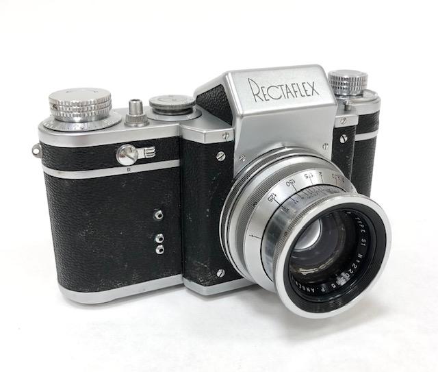 Rectaflex Angénieux 1,8 /50 Vers 1952 Italie