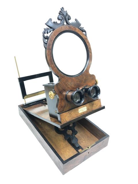 Stéréographoscope Très Grand Modèle, 55 Cm De Longueur Ziegler  Paris 1880